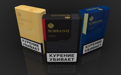 Sobranie Cigarette Packaging for Fitch